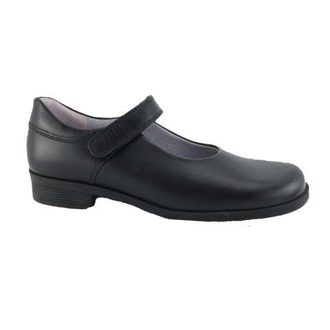 Start Rite. Brighton E Black School Shoes