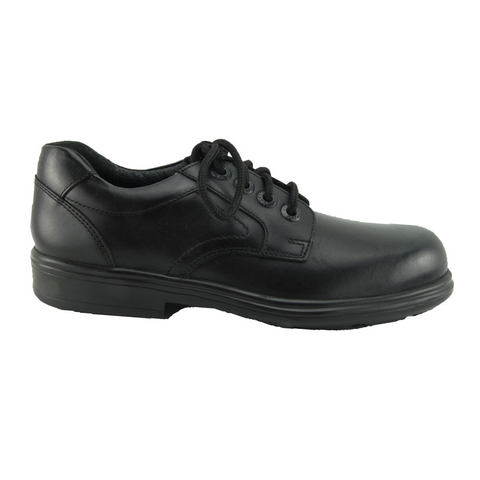 Start Rite. Isaac Junior Black School Shoes
