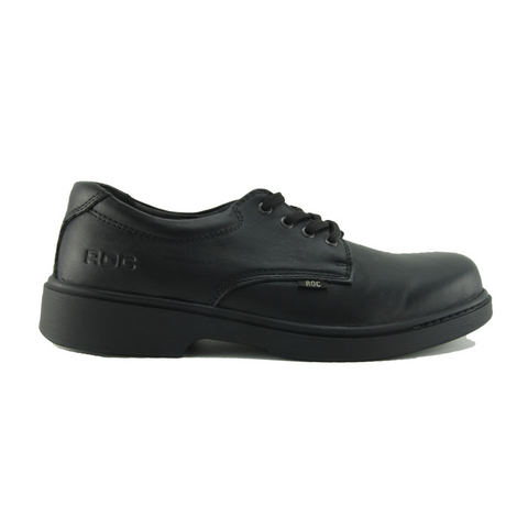 Strobe Black School Shoes from Roc Shoes