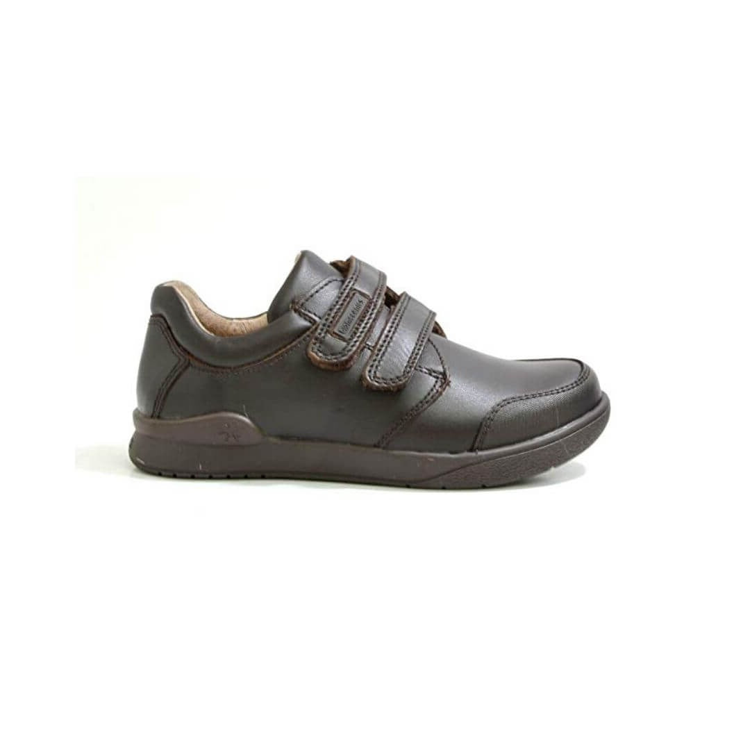 Benjamin School Shoes in Brown from Biomechanics.