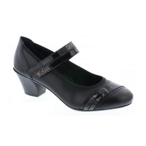 45080 Womens Shoes in Schwarz by Rieker