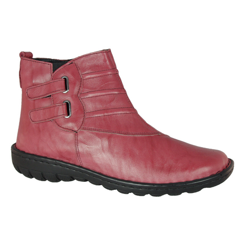 CP348-32 Ankle Boots in Red by Cabello