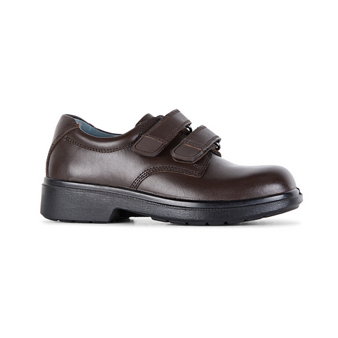 Denver Brown School Shoes by Clarks