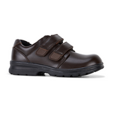 League E+ School Shoes in Brown from Clarks.
