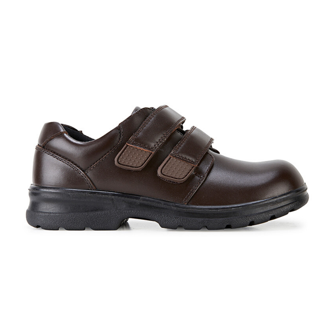 League Brown School Shoes from Clarks.