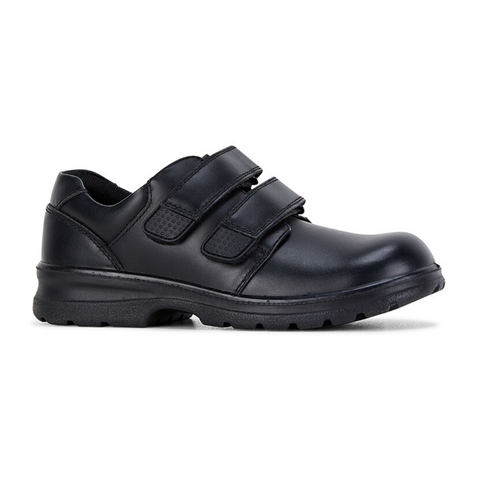 League E+ School Shoes in Black from Clarks.