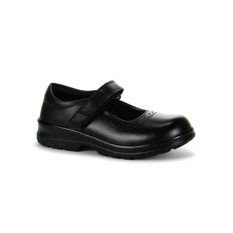 Layla School Shoes in Black from Clarks.
