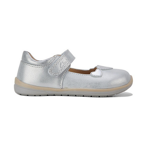 Mara E Kids Shoes in Silver from Clarks.
