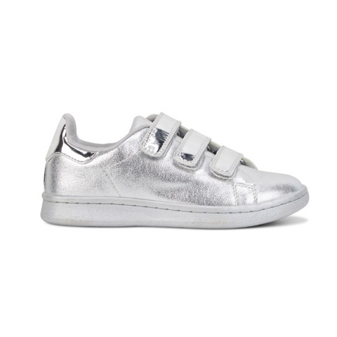 Dream Shoes in Silver Metallic Grey by Clarks