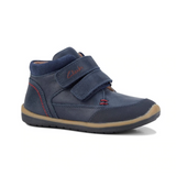 Navy and Red Munich F from Clarks.