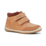 Munich E Tan Brown Sneakers from Clarks.
