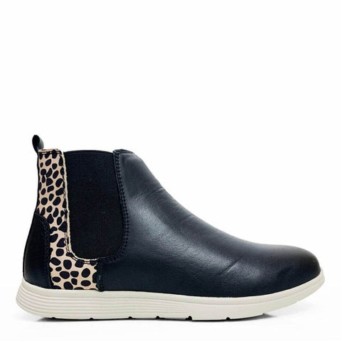 Jaded Boots in Black Brown and Animal Print from Stegmann