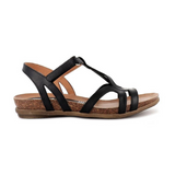 Rapt Sandals in Black from Zeta