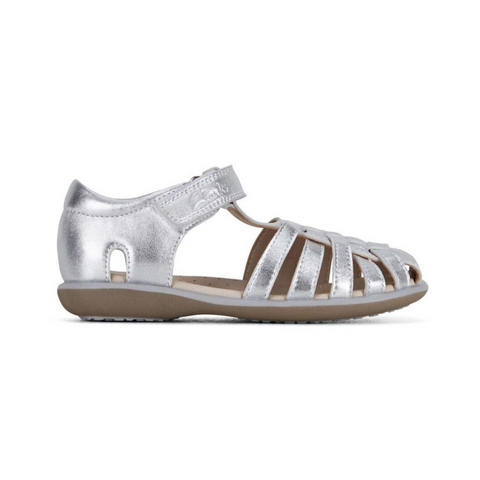 Phoebe E Sandals in Silver from Clarks