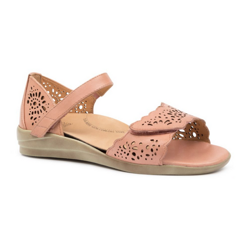 Dusty Sandals in Toasted by Ziera