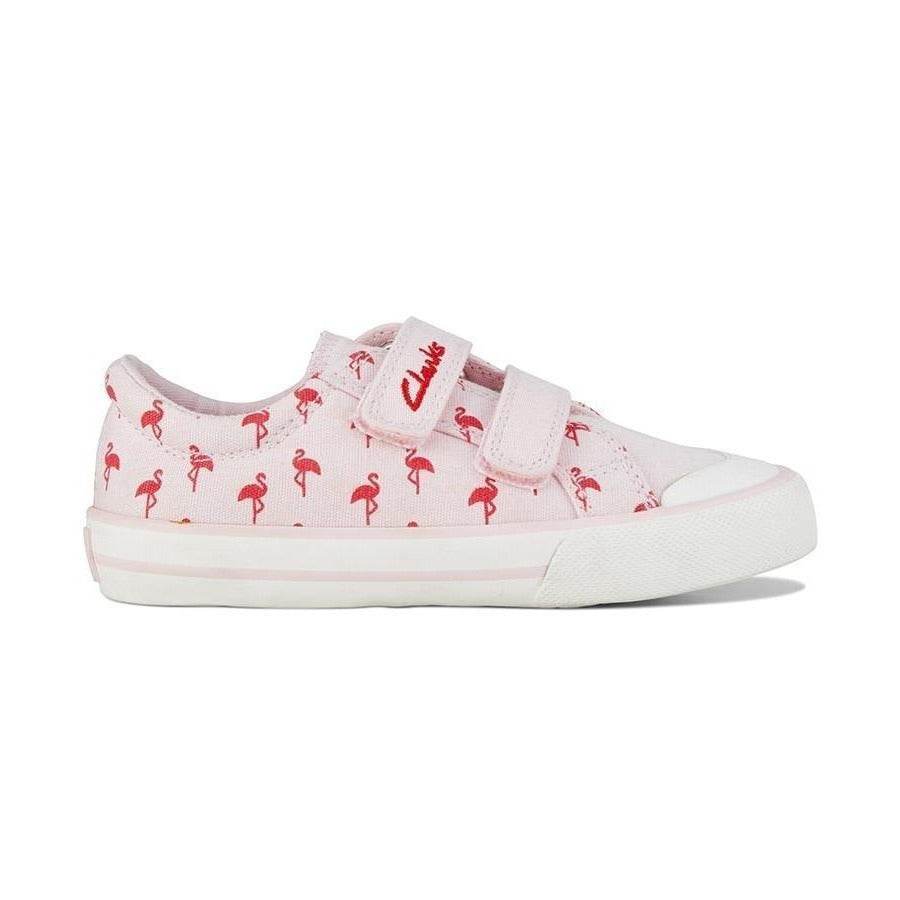Daylight Kids Shoes in Pink Flamingo from Clarks