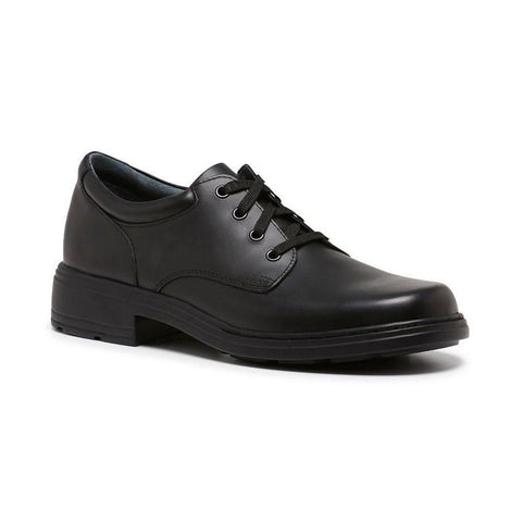 Infinity E School Shoes in Black from Clarks.