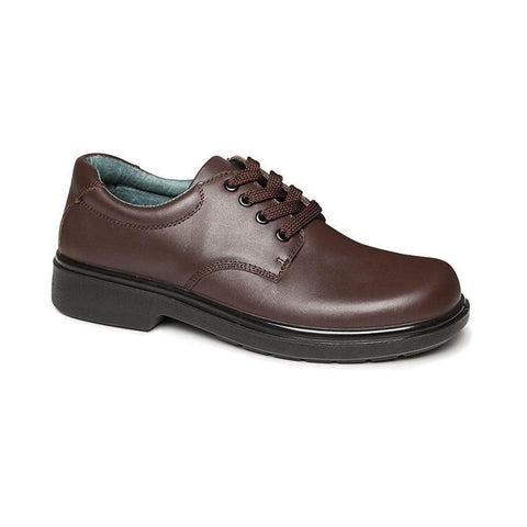 Daytona Senior E Brown Clarks School Shoes