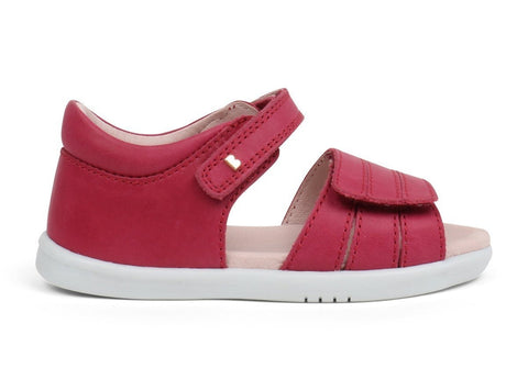 Hampton Sandal in Dark Pink from Bobux i-Walk Collection.