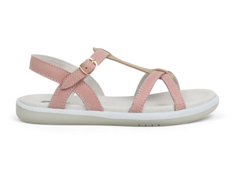 BOBUX PIXIE-KID+ - BLUSH/GOLD KIDS SHOES