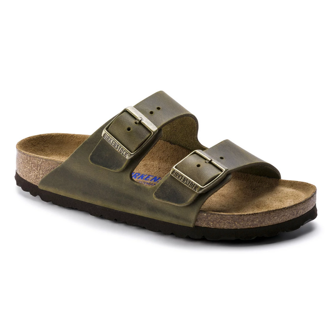 Arizona Regular Jade Birkenstocks