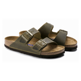 Regular Arizona Birkenstocks in Jade