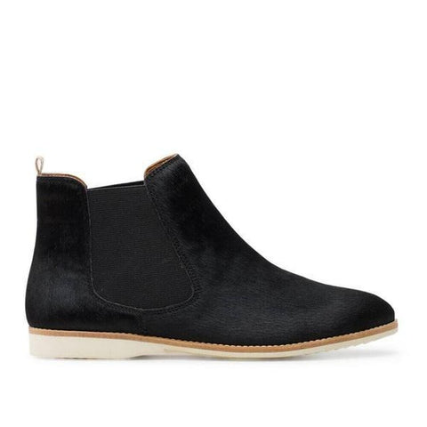 ROLLIE NATION CHELSEA - BLACK PONY WOMENS SHOES
