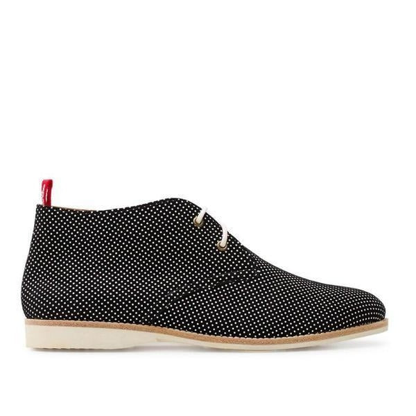 Chukka Boots in Black Dream from Rollie's