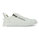 EOS White Clarence leather sneakers