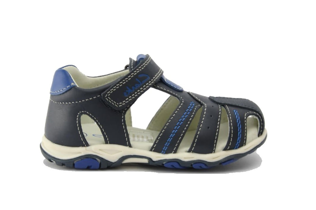 Ollie kids sandal in navy blue by Clarks.