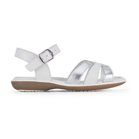 Petal in White Silver from Clarks
