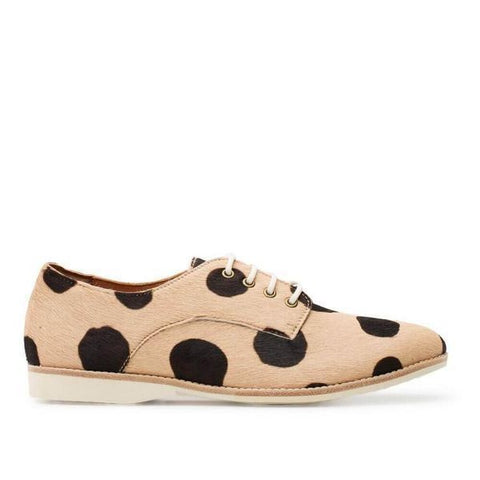 Derby in Beige with Black Spots from Rollie's
