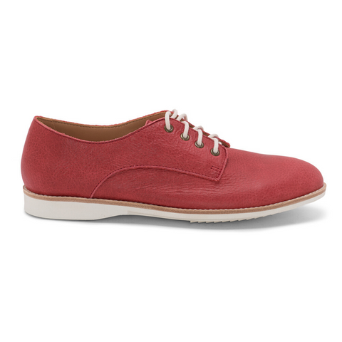 Derby Unlined Shoes in Red by Rollie Nation