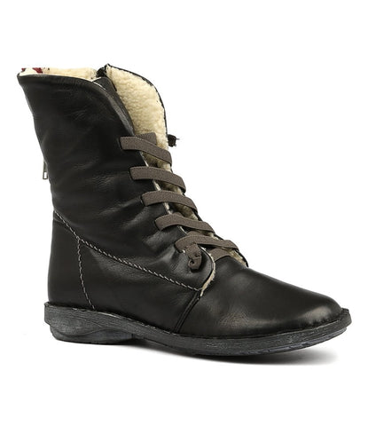 Panama Boots in Black by Effegie