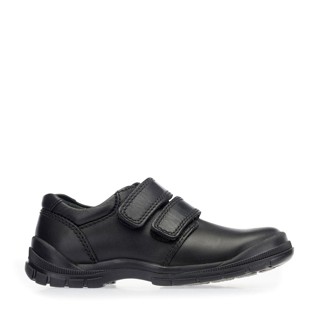 START RITE ENGINEER - BLACK SCHOOL SHOES