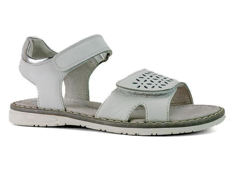 Flick Sandals in White by Surefit