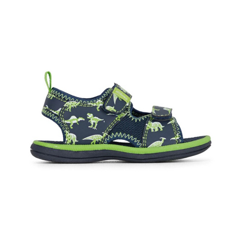 Fred in Navy Lime from Clarks