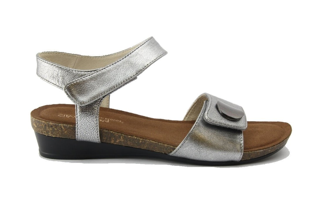 SILVER LININGS HAPPY - PEWTER WOMENS SHOES