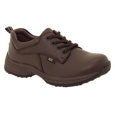 Hybrid School Shoes in Brown from Roc