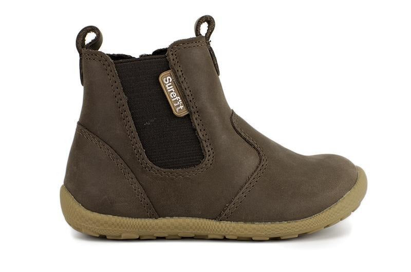 Mani Taupe Kids Boots from Surefit