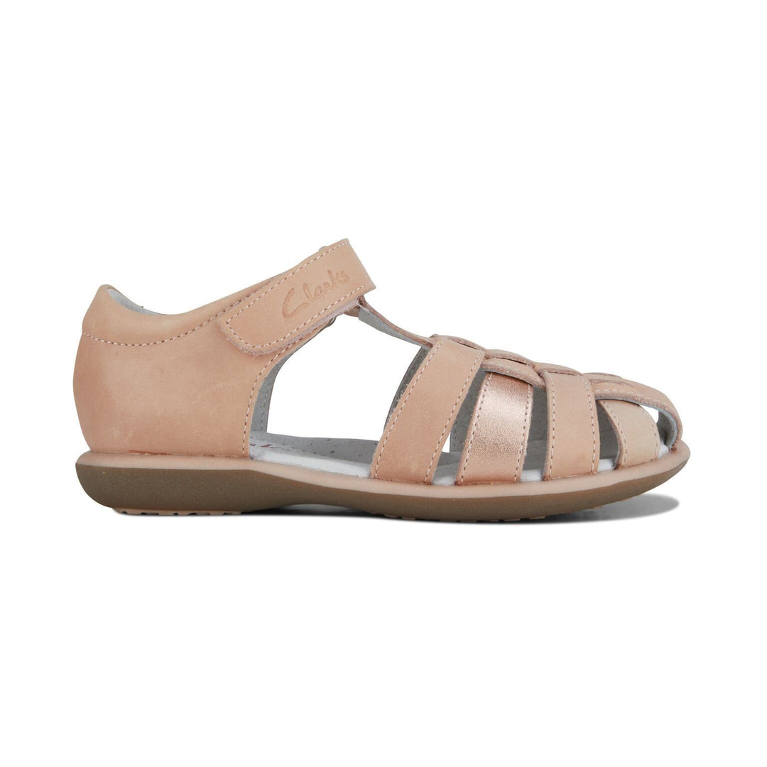Piper Sandal in Rose Gold by Clarks