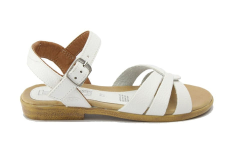 Piper Sandal in White Frost from Roc