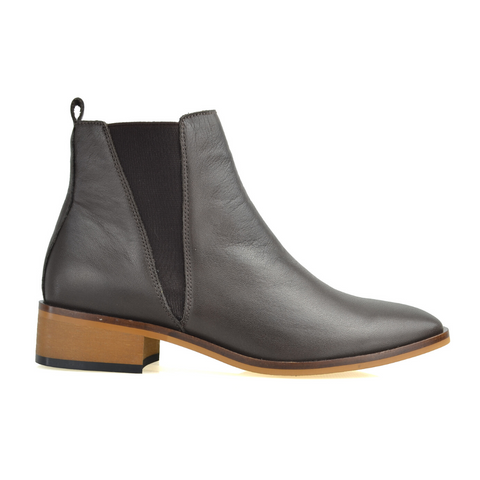 Remember Ankle Boots in Teak by Alfie & Evie