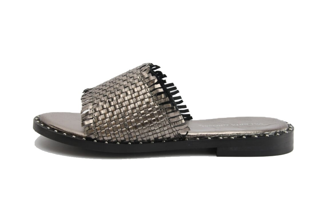 VALERIA GROSSI RID - PEWTER WOMENS SHOES
