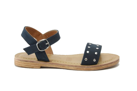 Roulette Sandals in Blue Denim from Roc