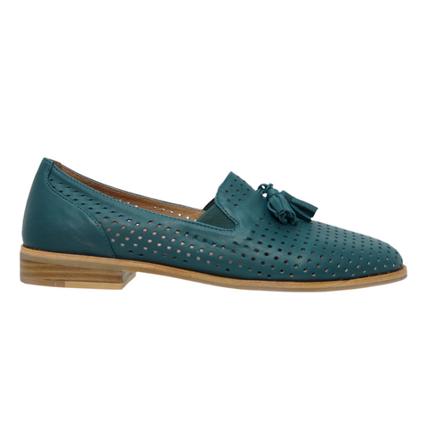 Peacock Loafers in Saccade from Bresley