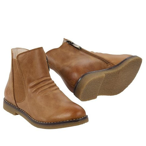 RED BOOTIE. SACHA REDBOOTIE - TAN KIDS SHOES