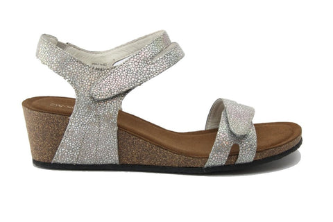SILVER LININGS KIMBERLY - SILVER SPARKLE WOMENS SHOES