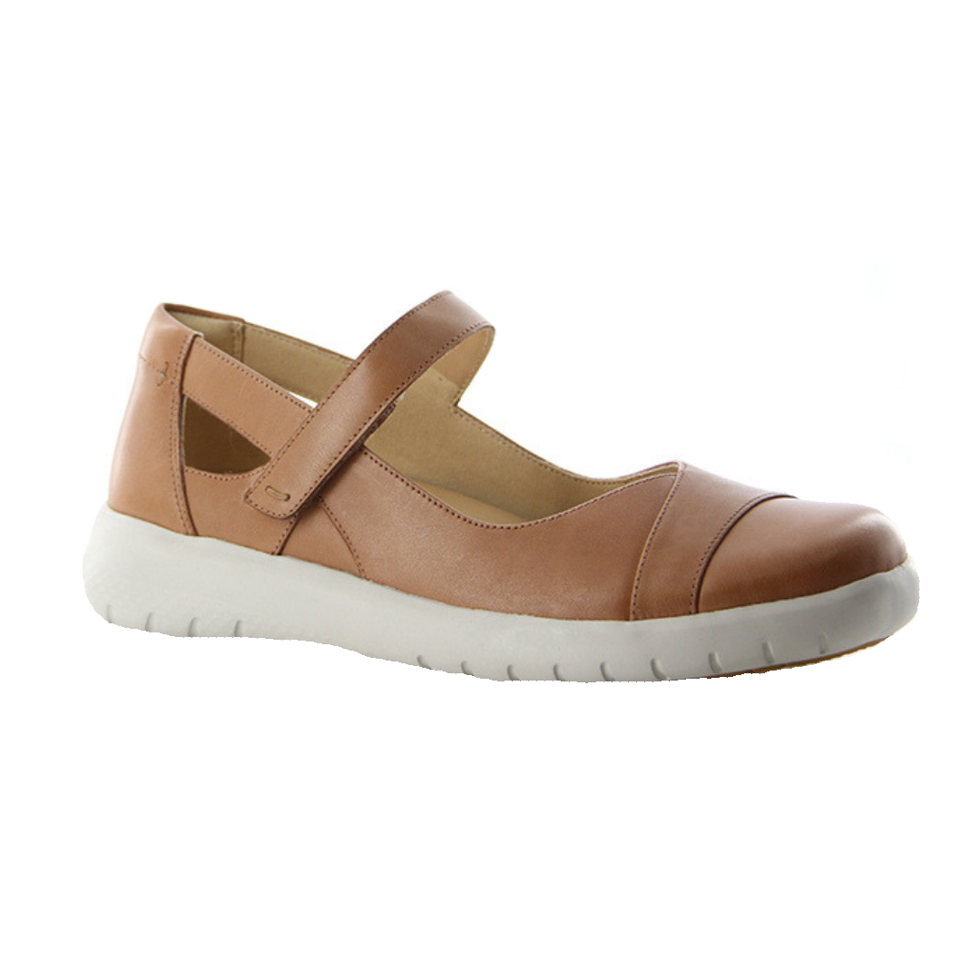 Sofia Shoes in Light Tan by Ziera
