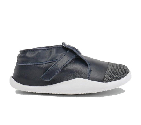 BOBUX XPLORER ORIGIN STEP UP - NAVY/WHITE KIDS SHOES